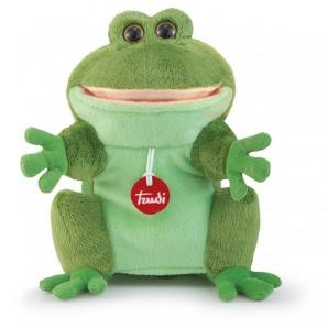 Handpuppe Frosch Plüsch