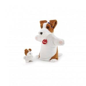 Handpuppe & Baby Hund Plüsch