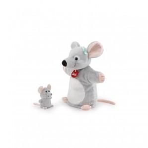 Handpuppe & Baby Maus Plüsch