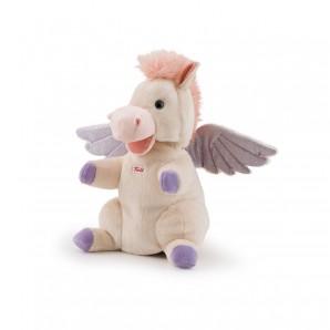 Handpuppe Pegasus Plüsch