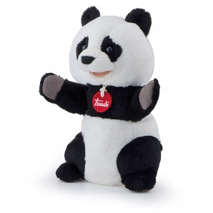 Handpuppe Panda Plüsch
