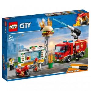 Feuerwehreinsatz im BurgerRestaurant