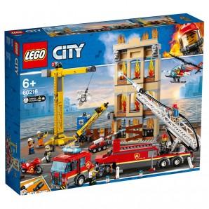 Feuerwehr in der Stadt Lego City