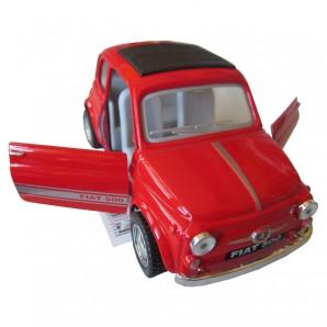 Fiat 500 assortiert 1:24