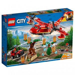 Löschflugzeug der Feuerwehr Lego City