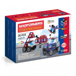 Magformers Amazing Police/