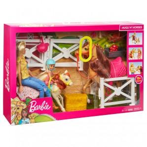 Barbie Reitspaß mit Barbie (blond)