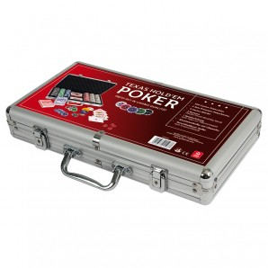 Pokerkoffer Texas Holdem in Alu-Koffer