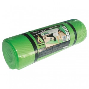 Fitnessmatte 15mm grün