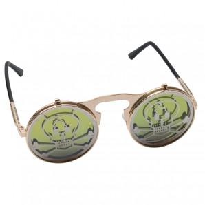 Brille Totenkopf