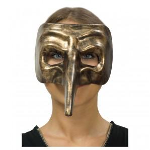 Maske Steampunk gold