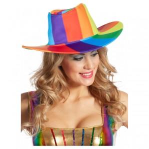 Cowboy Hut Regenbogen