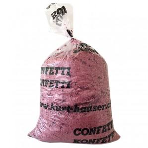 Konfetti 10 kg rot