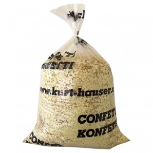 Konfetti 10 kg gelb