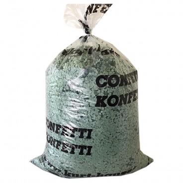 Konfetti 10 kg grün