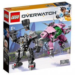 D.Va & Reinhardt Lego Overwatch
