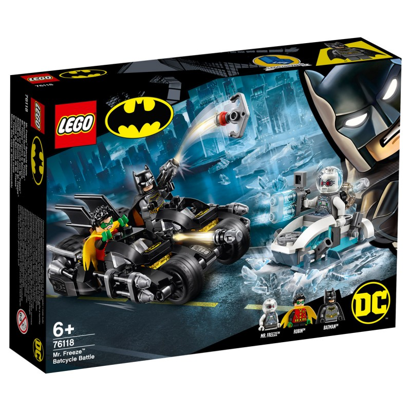 Batcycle-Duell mit Mr.Freeze Lego Super Heroes