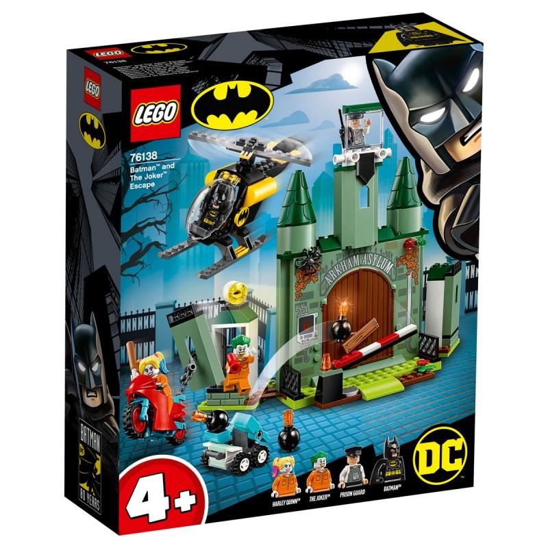 Joker auf der Flucht und Batman