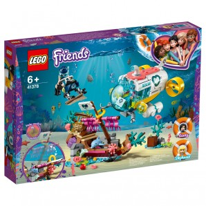 Rettungs-U-Boot für Delfine Lego Friends