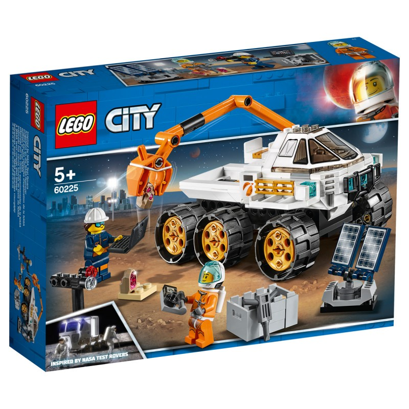 Rover-Testfahrt Lego City