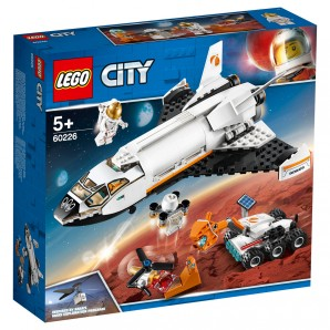 Mars-Forschungsshuttle Lego City