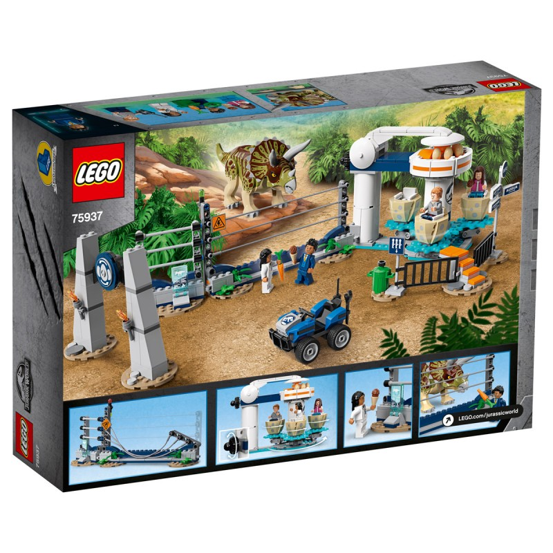 Triceratops-Randale Lego Jurassic World