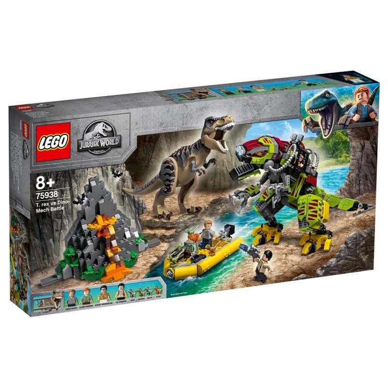 T.rex vs. Dino-Mech Lego Jurassic World