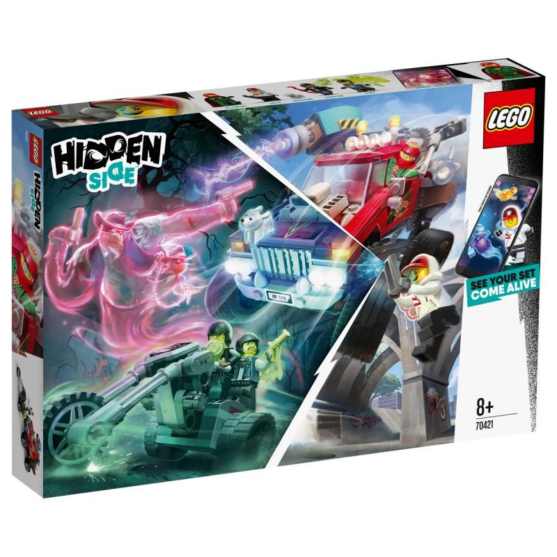 El Fuegos Stunt-Truck Lego Hidden Side