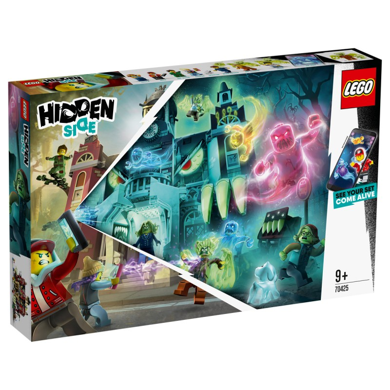 Newbury's spukende Schule Lego Hidden Side