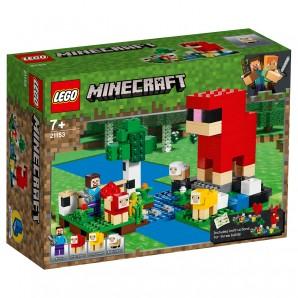 Die Schaffarm Lego Minecraft