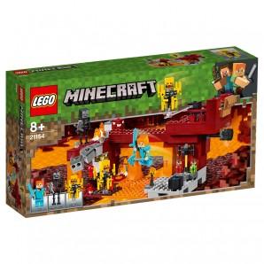 Die Brücke Lego Minecraft