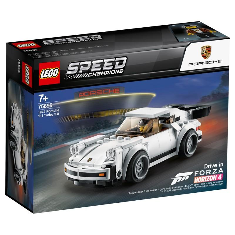 1974 Porsche 911 Turbo 3.0 Lego Speed Champions