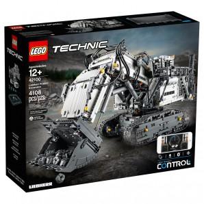 Liebherr Bagger R9800 Lego Technic