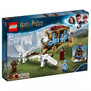 Beauxbatons Kutsche Ankunft in Hogwarts