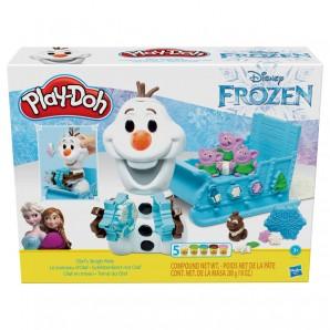 Play-Doh Frozen Schlitten