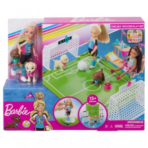 Barbie Chelsea Fußballerin