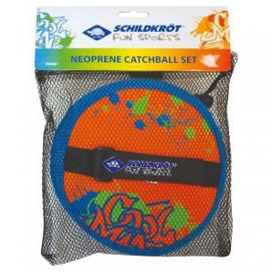 Neopren Klettball Set 2 Handfänger/Ø 17cm