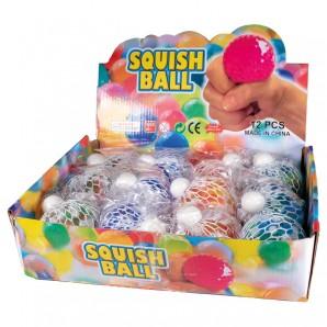 Squeeze Quetsch-Ball farblich sortiert