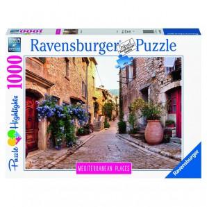 Puzzle Mediterranean France