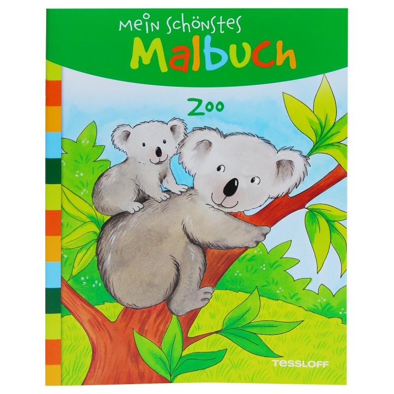 Zoo mein schönstes Malbuch