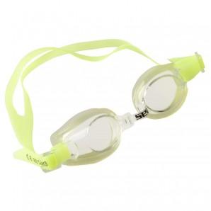 Schwimmbrille Kleo gelb verstellbares Kopfband