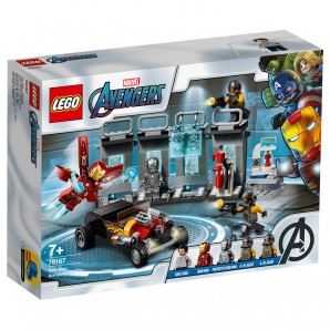 Iron Mans Arsenal Lego Marvel Avengers