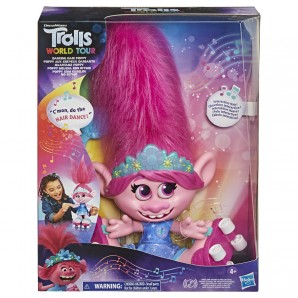 Trolls DANCING HAIR POPPY d