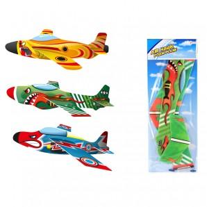 Air Hawk Styropor-Flieger 3-fach ass.