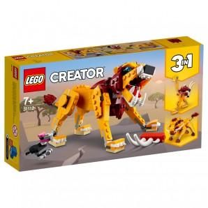Wilder Löwe Lego Creator