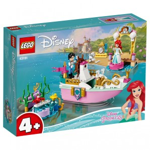 Arielles Festtagsboot Lego Disney Princess