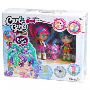 Curligirls Puppe Color
