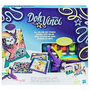 DohVinci Kunststudio mit 10 Farben,
