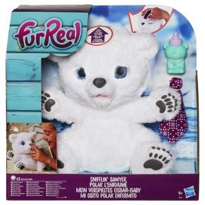 FurReal Friends Eisbär Baby mit Schmusedecke u. Flasche