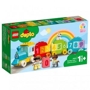 Zahlenzug - Zählen lernen Lego Duplo